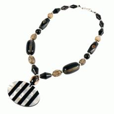 Shell Medalion Necklace at Ten Thousand Villages
